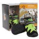 Outdoor Dog - All Road Boots - Hundeschuhe 4er Set -...