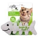 Green Rush - Fish Bones - Cat Toy Herringbone with catnip