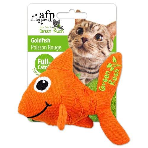Green Rush - Goldfish - cat toy Goldfish with catnip