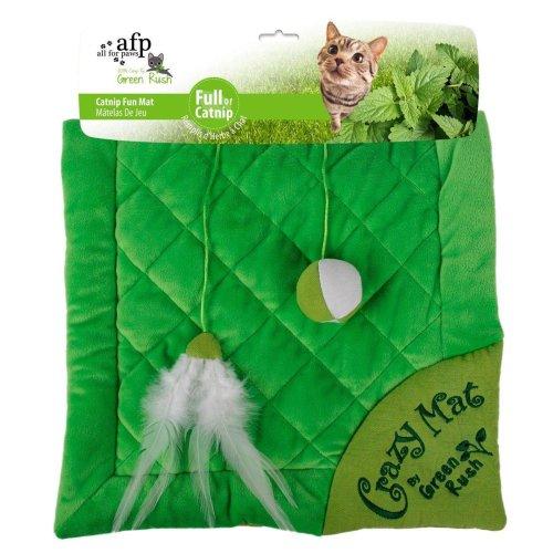 Green Rush - Crazy Cat Mat - Katzenmatte mit Katzenminze grün