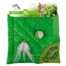 Green Rush - Crazy Cat Mat - cat mat with green catnip