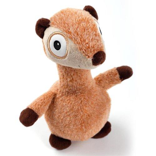 Ultrasonic - Silent Squirrel - Hundespielzeug Eichhörnchen mit extra leisem Quietscher