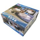 Drinking fountain OASIS AURA for cats and dogs white-blue