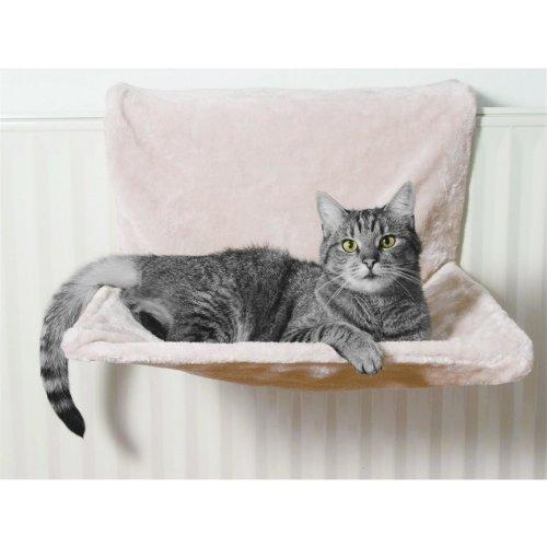 Katzenmulde Liegemulde Katzenliege Katzenbett für die Heizung Radiator Bed beige