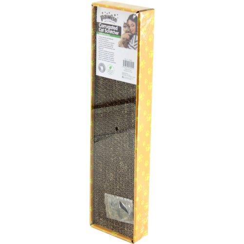Cardboard scratching board with Catnip Cat Scratcher 47 x 12 x 4.5 cm