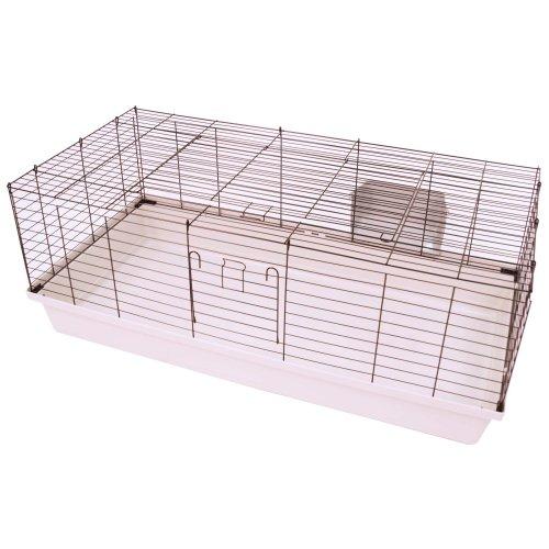 Rabbit and guinea pig home SAMMY 120 black-light gray
