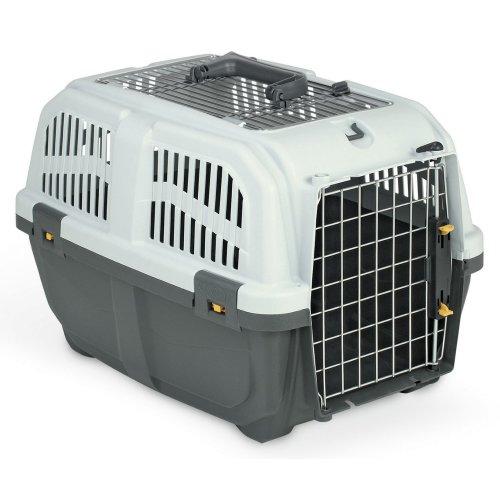 Transport box small animal box SKUDO 2 OPEN IATA 55 x 36 x 35 cm
