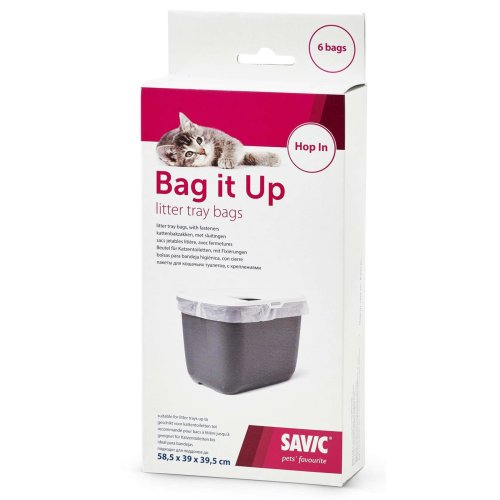 BAG IT UP cat litter bag HOP IN and similar toilets - 6 bags