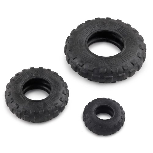 Dog toy Chest tires Mighty Rex Wheel extra sturdy and buoyant