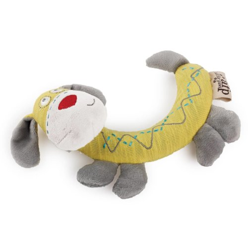 Curved Dogs & Puppy Toys Pups Bended with Squeaker 12 x 16.5 x 4.5 cm