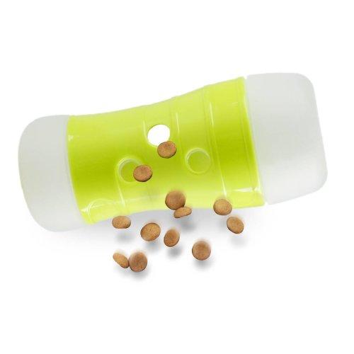 Interaktives Hundespielzeug Treat Frenzy Roll Futterspender Futterrolle Snackrolle