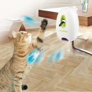 Electric Interactive Cat Toy Jumping Wall Feather with...