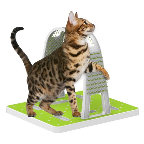Interaktives Katzenspielzeug Massagespielzeug Kratzbaum für Katzen - Grooming Arch