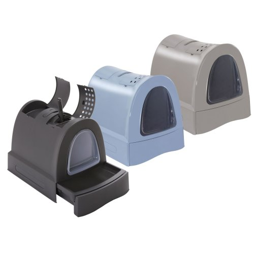 Cat toilet Hood toilet with drawer Carrying handle Storage compartment Carbon filter