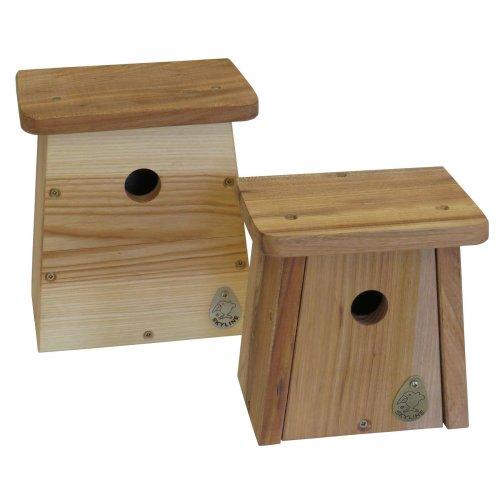 Nistkasten Vogelhaus Meisenkasten Nisthöhle Nisthilfe ROOMY aus Eichenholz