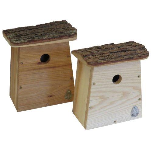 Nistkasten Vogelhaus Meisenkasten Nisthöhle Nisthilfe HATCH aus Eichenholz
