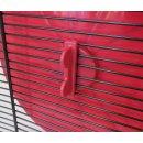 Hamsterrad Hamsterlaufrad Hamsterrolle Laufrad für Nager rot 19 cm