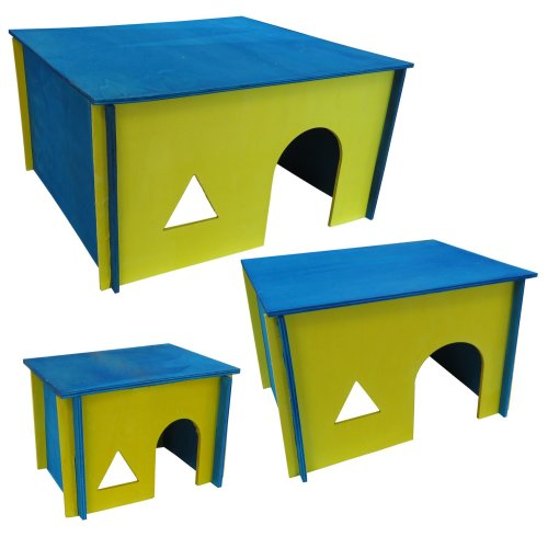 Rodent house Guinea pig house Rabbit house Small animal house Enna 3 sizes