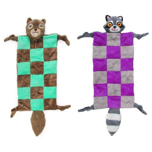 Schnüffelteppich Schnüffelmatte Spielteppich Eichhörnchen oder Waschbär