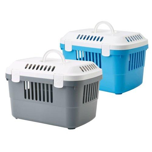 Transportbox für Meerschweinchen, Kaninchen, Katzen, Nager und kleine Hunde