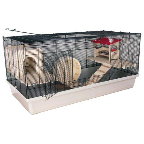 """Mäuse- und Hamsterkäfig BORNEO """"XL"""" DELUXE"""