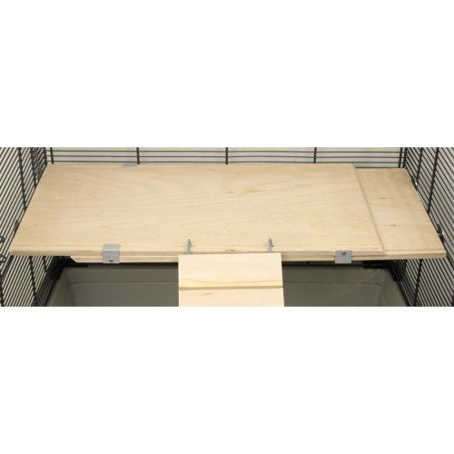 Ausziehbare Holzetage FLEX-ED 37 x 20 x 1,7 cm ausziehbar bis ca. 62,5 cm