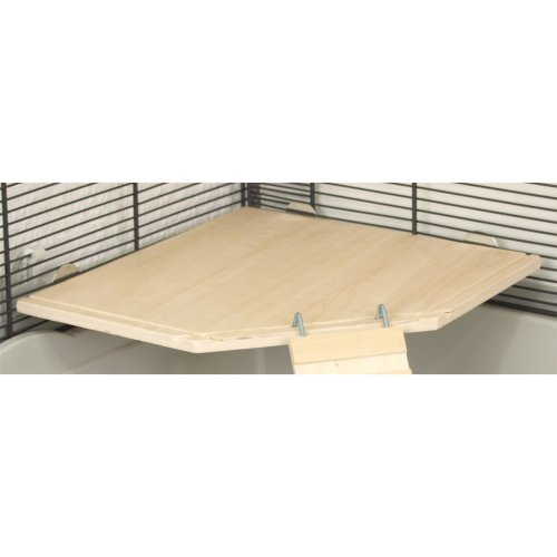 Wooden floor for the corner ECKI 20