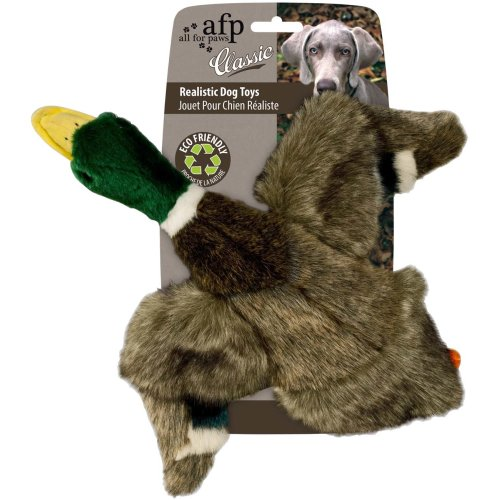 Classic - Mallard - Duck with Squeaker - Dog Toy - Size: Small